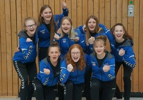 Weibliche U16 bei DM in Berlin am Start!!