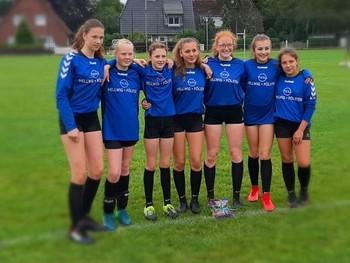 Weibliche U14 startet bei der DM in Wangersen!!!!