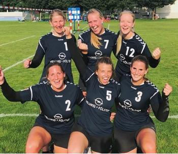 Platz 2 für VfL Frauen in der Schweiz!!!!!